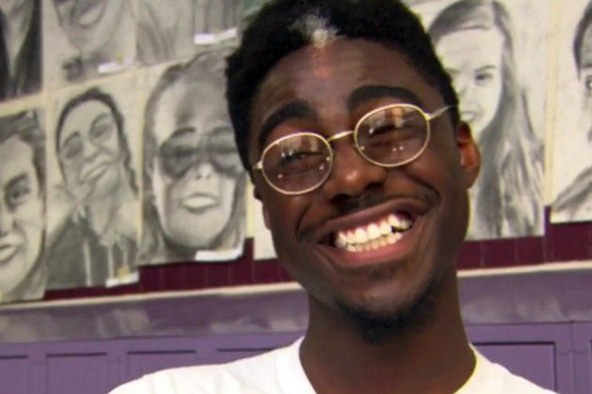 Young artist, Phillip Sossou (18) brings students together with his gift of art.