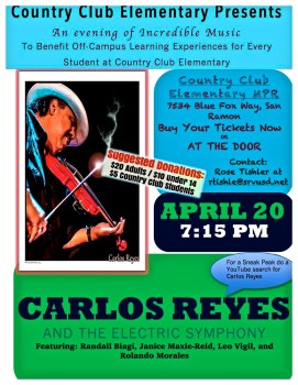 Carlos Reyes and the Electric Symphony
