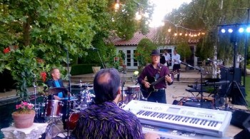 Rolando Morales at private event in Yountville