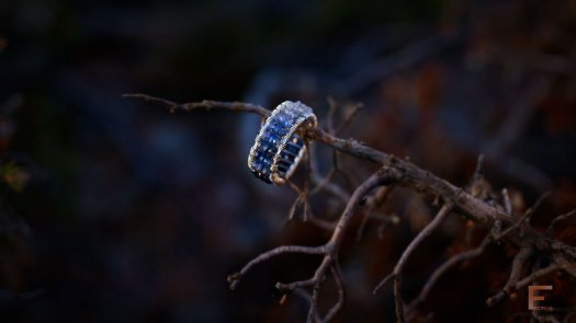 """""""Better put a ring on it."""" This ring straight from the enchanted wilds in Finland is designed and crafted by Niina Karlsson of Fikorus."""