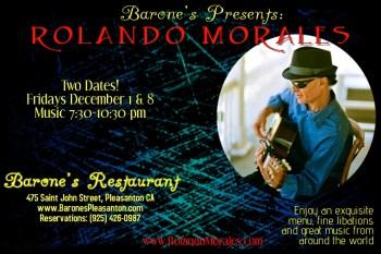 Barone's December 1 and December 8, 2017 features Rolando Morales