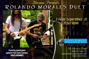 Carlo Hernandez and Rolando Morales at Havana Friday September 28, 2018