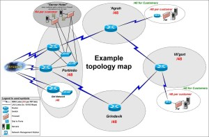 Submission of topology maps — RIPE Network Coordination Centre