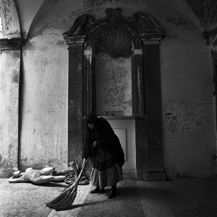 Stephan Brigidi book + Woman with Broom