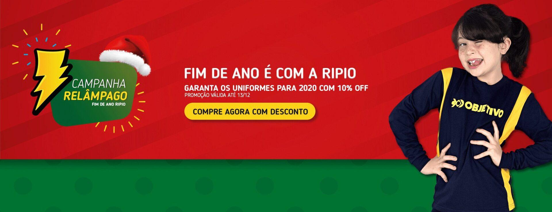 Campanha Relâmpago Natal - Ripio Uniformes
