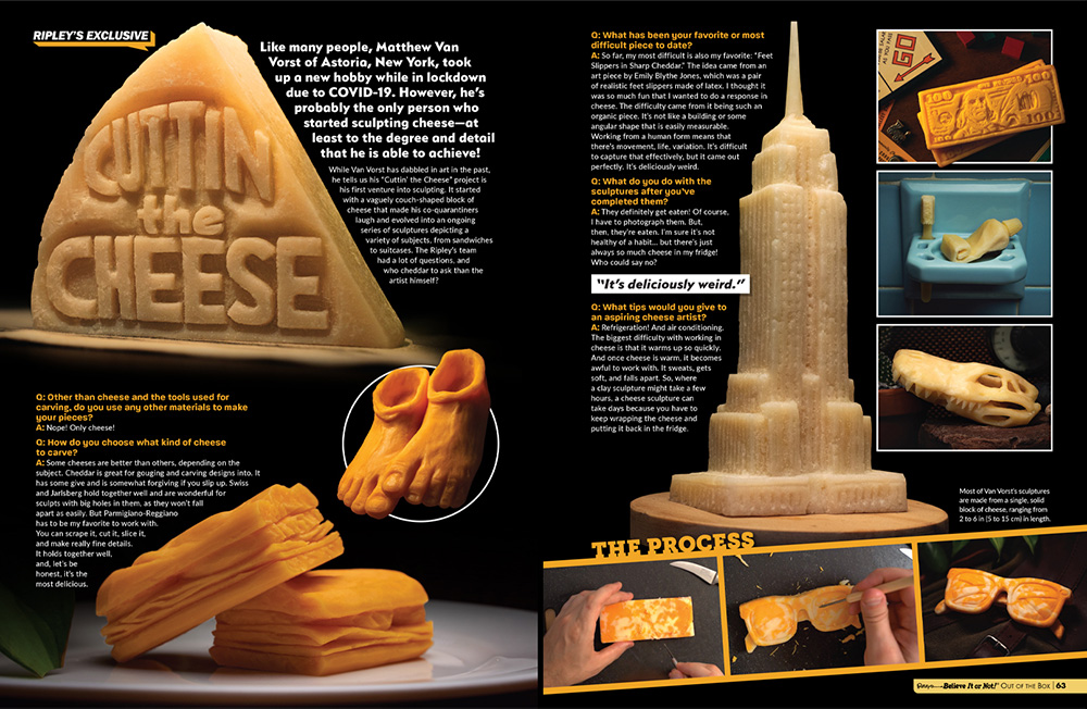 Ripley's Out of the Box Book Spread
