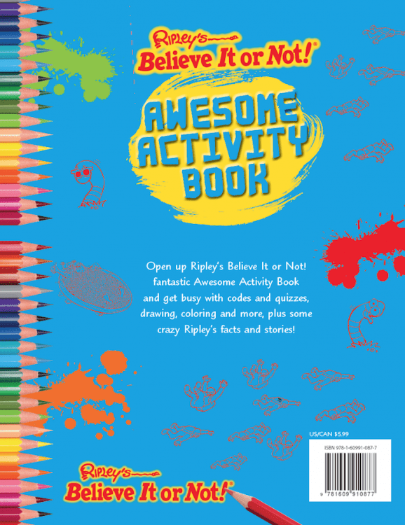 Awesome Activity Book Ripleys Believe It Or Not