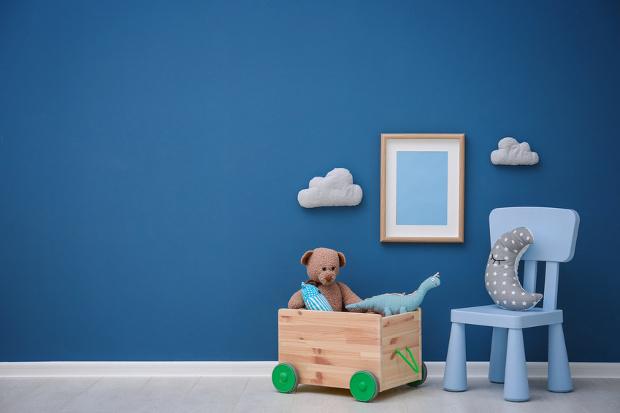 chambre d enfant bleue quel bleu