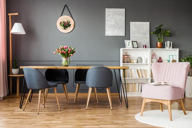 comment utiliser la peinture grise dans un salon ripolin
