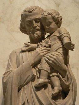 L'Institut du Bon Pasteur nous invite à prier Saint Joseph en ce mois qui lui est consacré St_Joseph_statue2