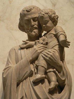 en mars, prions Saint Joseph St_Joseph_statue2