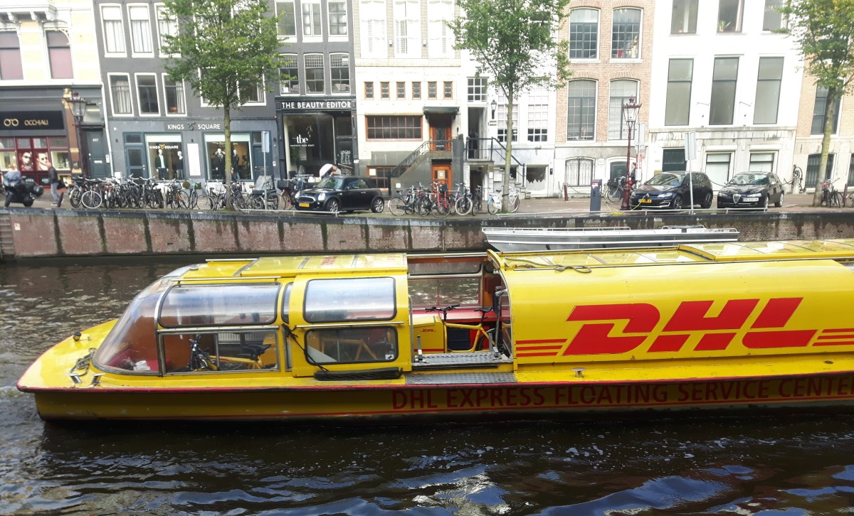 RIPPL #36: Boat-Bike: DHL's multimodal Amsterdam logistics chain