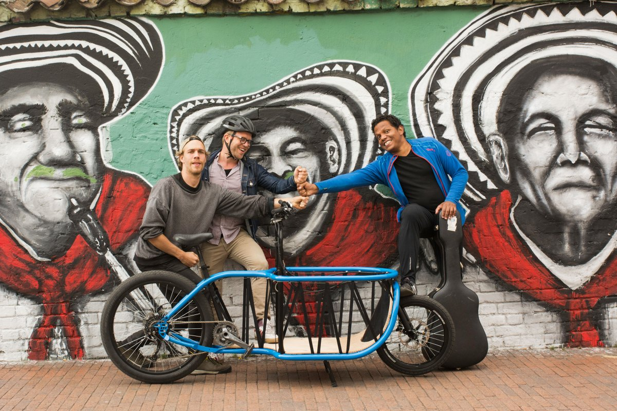 RIPPL #46: Bogbi – handmade cargo bikes for peace in Colombia