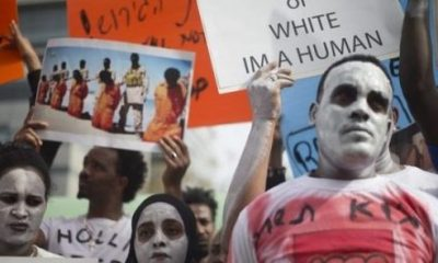 First set of asylum seekers refusing deportation jailed in Israel