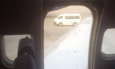 DANA Again! NCAA, Senate to probe shaky aircraft door that allegedly fell off during landing