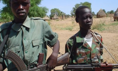 Armed groups in South Sudan release more than 300 child soldiers