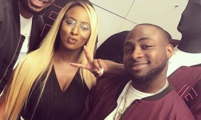 DJ Cuppy hits Davido below the belt, says she doesn't use her dad's influence to get things done like he does