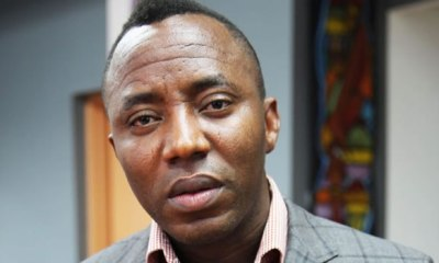 Sowore's dream to replace Buhari as president back on track