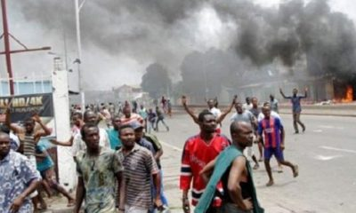 Violence erupts in Adamawa town over ban on motorcycles