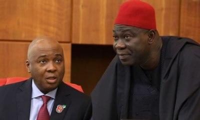 NASS INVASION: Saraki, Ekweremadu claim Nigerian govt hatching another plot