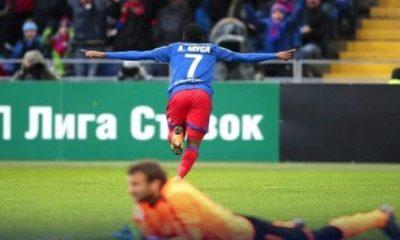 Musa's brace ensures CSKA win over Krasnodar