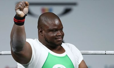 CLEAN SWEEP! Nigeria win all four gold medals in para-powerlifting at C'wealth Games