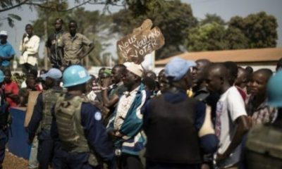 CAR: UN berates protesters who dumped corpses at its Hq, says it's propaganda