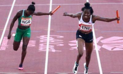 #GC2018: Nigerian women's 4x100m relay team bags bronze; 4x400m team wins silver