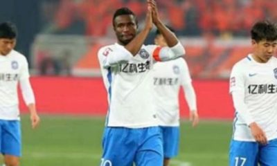 Mikel celebrates first goal of the season