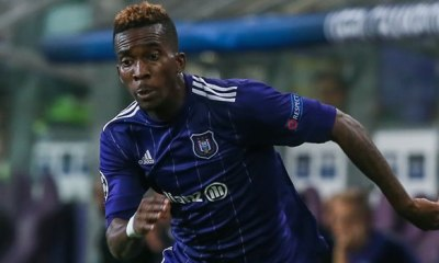 Anderlecht 'glad' to have Onyekuru back from injury
