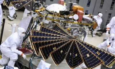 NASA to launch new solar-powered lander to Mars