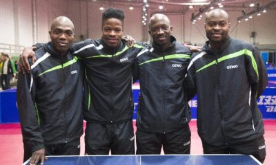 Team Nigeria Table Tennis