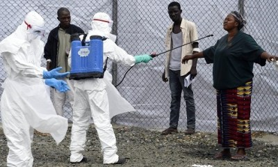 3 new Ebola cases confirmed in the DRC