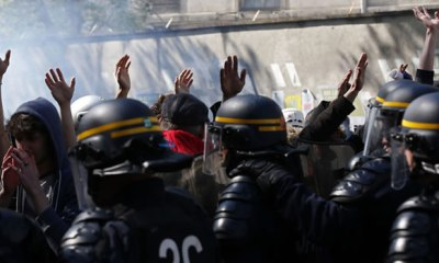 PARIS: 109 arrested for violent May Day protests