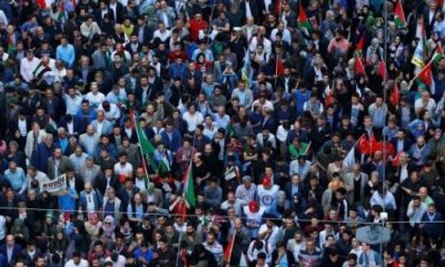 TURKEY: Protesters rally against opening of US embassy in Jerusalem