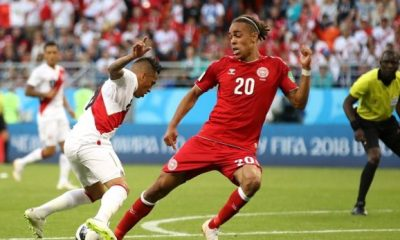 World cup 2018: Denmark beat Peru 1-0