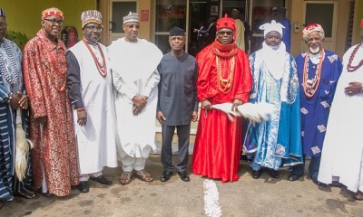 FG's success against IPOB was with the help of S'East traditional rulers— Osinbajo