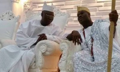 EKITI: Ooni, Aare Adams express worries