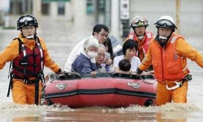 62 feared dead, dozens missing as heavy rains pound western Japan