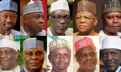 REVIEW... Who will grab PDP ticket in race against Buhari?