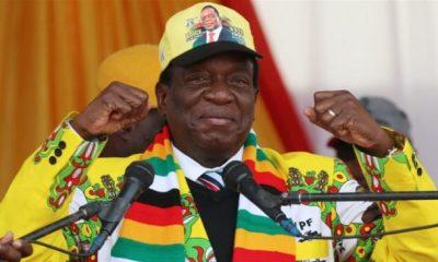 Mnangagwa declared winner of Zimbabwe's presidential election