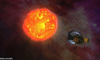 "NASA spacecraft set to begin 7-yr mission to ""touch the sun"""
