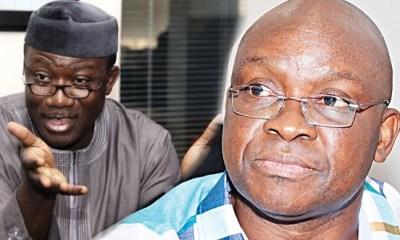 Fayemi moves against Fayose's men, dissolves board of agencies, parastatals