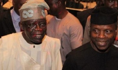 Tinubu gave me my first ever political appointment— Osinbajo