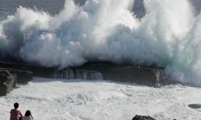 10 feared dead, passengers stranded as powerful typhoon pounds western Japan