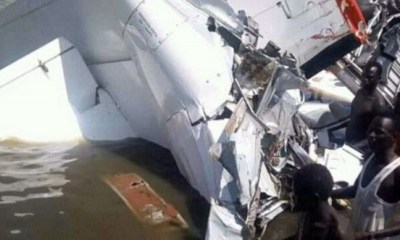 SOUTH SUDAN: 19 confirmed dead after passenger plane crashes into river