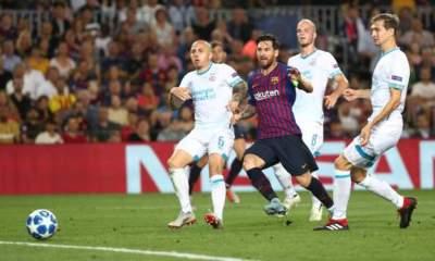Lionel Messi vs PSV