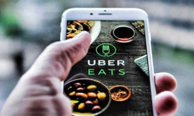 Uber sets target date to use drones for meal delivery