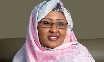 Aisha Buhari speaks on impersonator