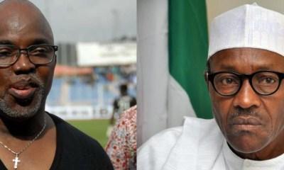 Amaju Pinnick and Muhammadu Buhari